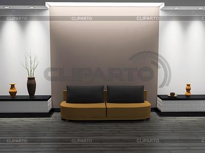 Interieur eines Zimmers | Illustration mit hoher Auflösung |ID 3366191