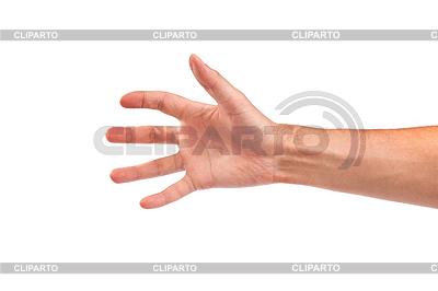 Gest ręka mężczyzny | Foto stockowe wysokiej rozdzielczości |ID 3371968