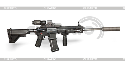 US Army M4 rifle | Foto stockowe wysokiej rozdzielczości |ID 3384092