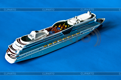Cruise Ship Miniature Cruise Ship | Stock Photos And