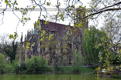 Johanneskirche Stuttgart Feuersee | Foto mit hoher Auflösung |ID 3380999