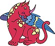 Fairy winged beast
