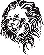 Lion head | Stock Vector Graphics