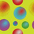 nahtlose Textur mit Blasen