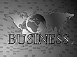 Vector clipart: business world
