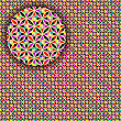 geometric seamless detailed pattern
