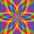 Векторный клипарт: фон в виде цветка