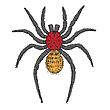 Векторный клипарт: паук