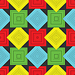 Vector clipart: squares pattern