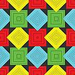 Векторный клипарт: Паттерн с квадратами