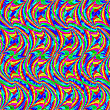 Vector clipart: wavy seamless pattern