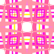 Vector clipart: geometric pink shapes
