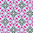 Vector clipart: geometric seamless pattern