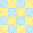 Vector clipart: checkered mesh