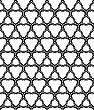 Vector clipart: monochromatic seamless pattern