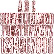 Alphabet-Buchstaben