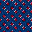 Vector clipart: american flag stars background