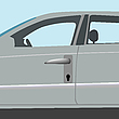 Vector clipart: auto locker