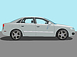 Vector clipart: automobile vector