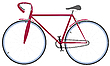 Vector clipart: bicycle