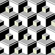 Векторный клипарт: черные кубы