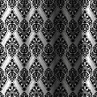 Vector clipart: black seamless curtain