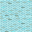 Vector clipart: blue seamless bricks wall