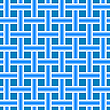 Vector clipart: blue seamless horizontal mesh