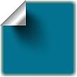 Vector clipart: blue sticker