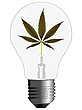 Vector clipart: cannabis energy