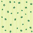 Vector clipart: cannabis rain