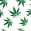 Vector clipart: cannabis seamless pattern