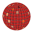Vector clipart: ceramic tiles sphere