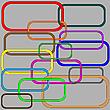 Векторный клипарт: звенья цепи