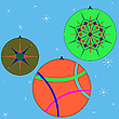Vector clipart: christmas globes collection 3
