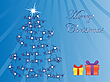 Vector clipart: christmas tree and presents