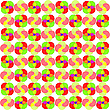 Vector clipart: circles seamless abstract pattern