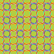 Vector clipart: circles seamless texture