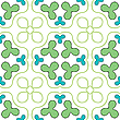 Clover seamless texture | Stock Vector Graphics