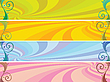 Colored headers background | Stock Vector Graphics