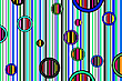 Vector clipart: colorful abstract stripes