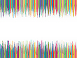 Vector clipart: colorful striped background