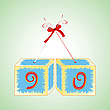 Cubes alphabet 90 | Stock Vector Graphics