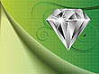 Vector clipart: diamond background