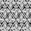 Vector clipart: diamonds pattern