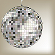 disco ball black