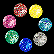 Vector clipart: disco ball collection