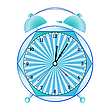 Vector clipart: fancy alarm clock