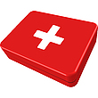 Vector clipart: first aid box
