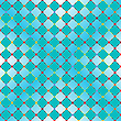 Vector clipart: flowerish blue seamless texture